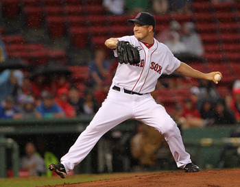 Erik Bedard joined the Red Sox at the trade deadline and could wind up as the game three starter in the playoffs.