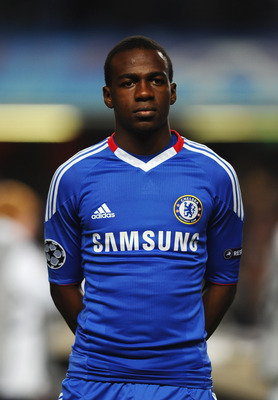 LONDON, ENGLAND - NOVEMBER 23: Gael Kakuta of Chelsea looks on during the UEFA Champions League Group F match between Chelsea and MSK Zilina at Stamford Bridge on November 23, 2010 in London, England.  (Photo by Mike Hewitt/Getty Images)