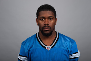DETROIT, MI - CIRCA 2010:  In this photo provided by the NFL, Randy Phillips of the Detroit Lions poses for his 2010 NFL headshot circa 2010 in Detroit, Michigan.  (Photo by NFL via Getty Images)