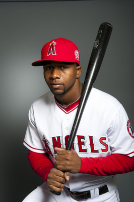 TEMPE, AZ - FEBRUARY 21: Jeremy Moore #49 of the Los Angeles Angels of Anaheim poses during their photo day at Tempe Diablo Stadium on February 21, 2011 in Tempe, Arizona.  (Photo by Rob Tringali/Getty Images)