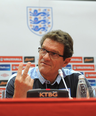 Fabio Capello indicates his central midfield