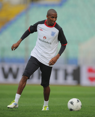 Ashley Young of Manchester United and England