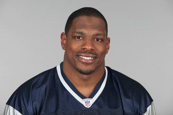 FOXBOROUGH, MA - CIRCA 2010: In this handout image provided by the NFL,  Tyrone McKenzie of the New England Patriots poses for his 2010 NFL headshot circa 2010 in Foxborough, Massachusetts. (Photo by NFL via Getty Images)