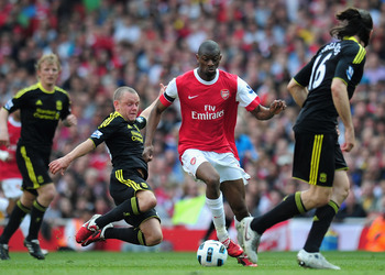 Abou Diaby is currently out injured