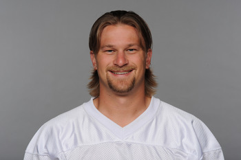 MIAMI, FL - CIRCA 2010: In this handout image provided by the NFL,  Dan Carpenter of the Miami Dolphins poses for his 2010 NFL headshot circa 2010 in Miami, Florida. (Photo by NFL via Getty Images)
