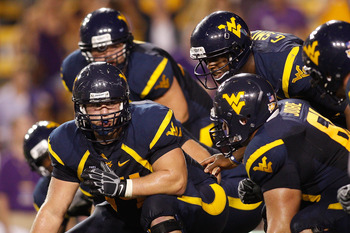 West Virginia's offensive Line looks to improve this year