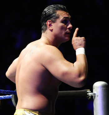DURBAN, SOUTH AFRICA - JULY 08:  Alberto Del Rio during the WWE Smackdown Live Tour at Westridge Park Tennis Stadium on July 08, 2011 in Durban, South Africa.  (Photo by Steve Haag/Gallo Images/Getty Images)