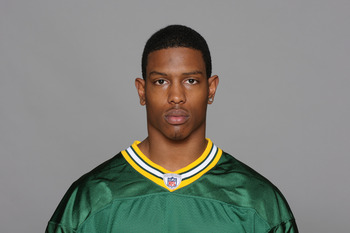 GREEN BAY, WI - CIRCA 2010: In this photo provided by the NFL, Brandon Underwood of the Green Bay Packers poses for his 2010 NFL headshot circa 2010 in Green Bay, Wisconsin.  (Photo by NFL via Getty Images)