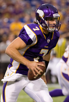 Christian Ponder A sure and steady performer