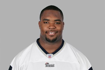 FOXBOROUGH, MA - 2008:  Ty Warren of the New England Patriots poses for his 2008 NFL headshot at photo day in Foxborough, Massachusetts.  (Photo by Getty Images)