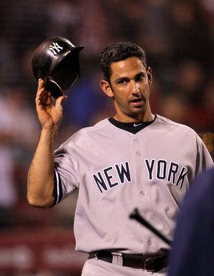 ANAHEIM, CA - JUNE 04:  Jorge Posada #20 of the New York Yankees waits to bat against the Los Angeles Angels of Anaheim on June 4, 2011 at Angel Stadium in Anaheim, California.  The Yankees won 3-2.  (Photo by Stephen Dunn/Getty Images)