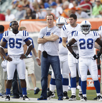 Peyton Needs To Get Out Of The Wrangles And Onto The Field