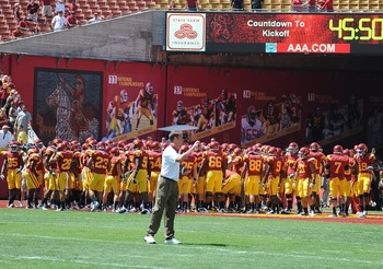 The Trojans have great depth this year but didn't use it in the first game (Photo courtesy of USCTrojans.com by John SooHoo)