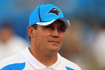 Ron Rivera's Glasses Automatically Tint When It Gets Sunny, Which Will Come In Handy In Carolina