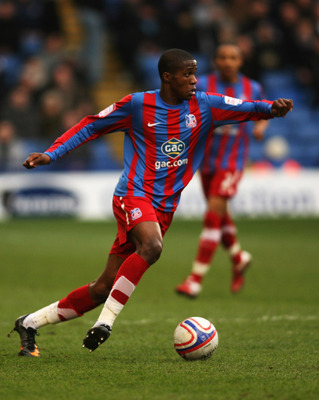 LONDON, ENGLAND - FEBRUARY 5: Wilfried Zaha of Crystal Palace in action during the npower Championship match between Crystal Palace and Norwich City at Selhurst Park on February 5, 2011 in London, England. (Photo by Mark Wieland/Getty Images)