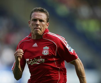 LONDON - SEPTEMBER 17:  Craig Bellamy of Liverpool in action during the Barclays Premiership match between Chelsea and Liverpool at Stamford Bridge on September 17, 2006 in London, England.  (Photo by Ben Radford/Getty Images)