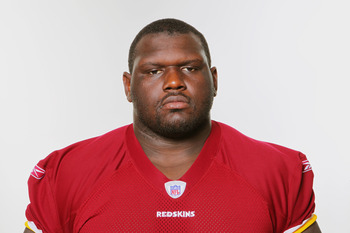 WASHINGTON, DC - CIRCA 2010:  In this photo provided by the NFL, Anthony Bryant of the Washington Redskins poses for his 2010 NFL headshot circa 2010 in Washington, DC.  (Photo by NFL via Getty Images)