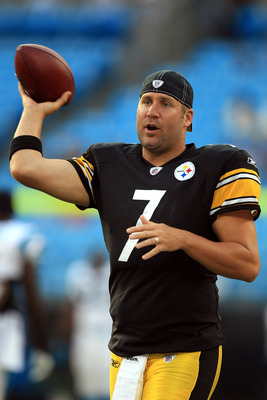 "Steelers' QB ""Big"" Ben Roethlisberger"