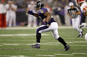 Ravens' RB Ray Rice