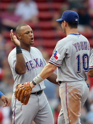 Much has been mentioned about his offensive support—which is enormous—but don't undervalue the immense improvement Beltre brings to the Rangers' defense.
