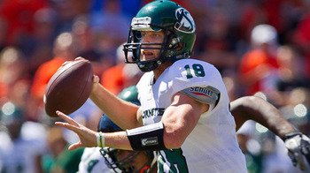 Sacramento State's Jeff Fleming had one of the best outings in a Pac 10 opener - as an FCS quarterback
