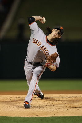 Lincecum and the Giants brought a World Series championship to San Francisco last year.