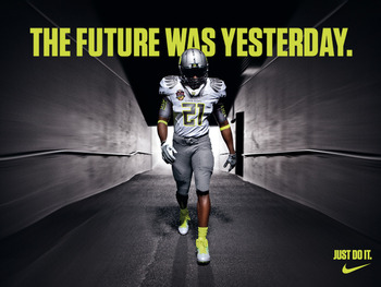 Nike and Oregon are almost one at this point
