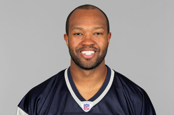 FOXBOROUGH, MA - CIRCA 2010: In this handout image provided by the NFL,  Torry Holt of the New England Patriots poses for his 2010 NFL headshot circa 2010 in Foxborough, Massachusetts. (Photo by NFL via Getty Images)