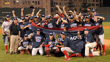 The 2009 and 2010 SAL Champion Lakewood BlueClaws.