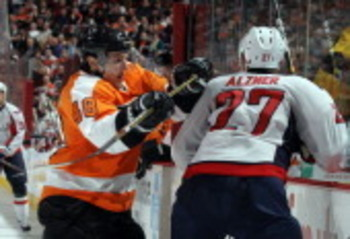 """Dirty Danny"" getting some of Washington d-man Karl Alzner"