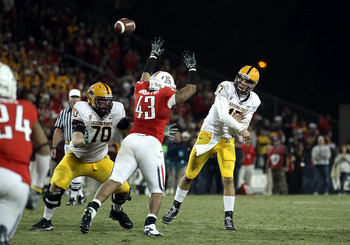 December 2, 2010 Brock Osweiler throws against Arizona