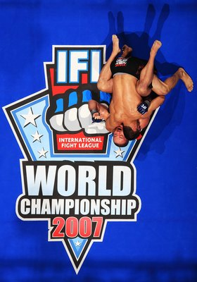 EAST RUTHERFORD, NJ - AUGUST 2:  Lyman Good in black battles Mike Dolce in a 170lb bout at the International Fight League  Semi Finals on August 2, 2007 in East Rutherford, New Jersey.  The International Fight League is the worlds first team based profess