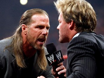 Source: http://images.teamtalk.com/08/09/800x600/WWE-RAW-Shawn-Michaels-Chris-Jericho_1171905.jpg