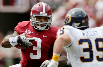 The Crimson Tide's Trent Richardson