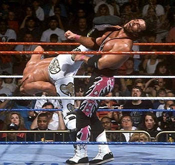Source: http://3.bp.blogspot.com/-e4w3CX2-rkQ/Tk1tS_h13PI/AAAAAAAABYg/jmJZQfr6Wx4/s1600/Wrestlemania-12-Shawn-Michaels-vs-Bret-Hart-Iron-Man-Match.jpeg
