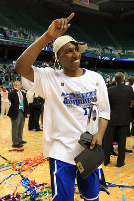 GREENSBORO, NC - MARCH 13: Nolan Smith #2 of the Duke Blue Devils