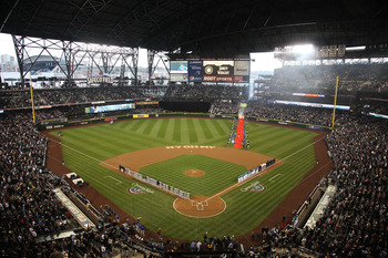 SEATTLE - APRIL 08:  A general view prior to the Seattle Mariners' home opener against the Cleveland Indians at Safeco Field on April 8, 2011 in Seattle, Washington. (Photo by Otto Greule Jr/Getty Images)