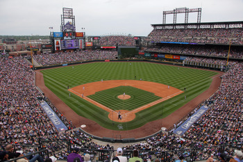 DENVER, CO - JUNE 19:  A general view of the stadium as the Detroit Tigers defeated the Colorado Rockies 9-1 at Coors Field on June 19, 2011 in Denver, Colorado.  (Photo by Doug Pensinger/Getty Images)