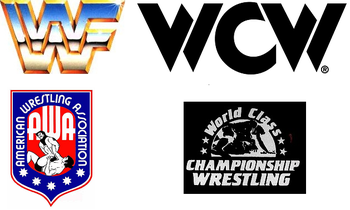 Some of the many video libraries owned by WWE.