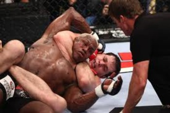 Roger Gracie finishing Kevin Randleman via RNC