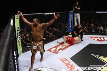 Daniel Cormier elated in victory