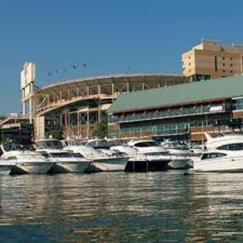 Neyland Stadium's waterfront access