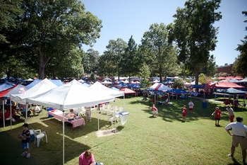 The Grove at Ole Miss