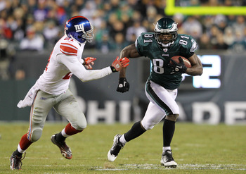 Philadelphia Eagles slot receiver Jason Avant