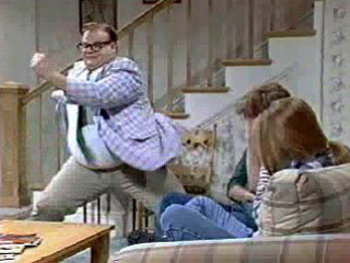 It will be tough to throw TD passes to Antonio Gates when you're living in a van down by the river