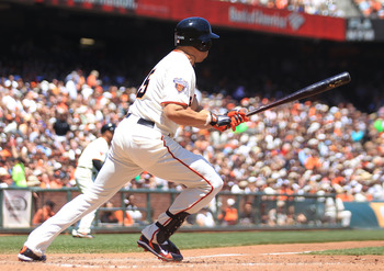 Carlos Beltran's level swing is well suited for the ally's at AT&T Park