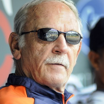 Tiger skipper, Jim Leyland