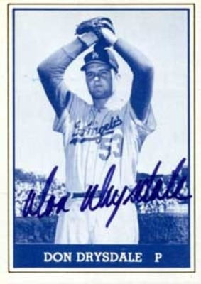 Don Drysdale logged 314 and a third innings for the '62 Dodgers.