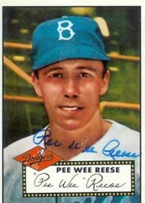 Pee Wee Reese stole 125 straight bases without getting caught!