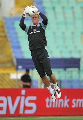 Joe Hart:  Flying high